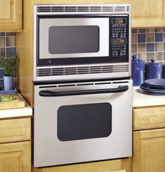 Ge Jkp86shss 27 Inch Combination Microwave Wall Oven