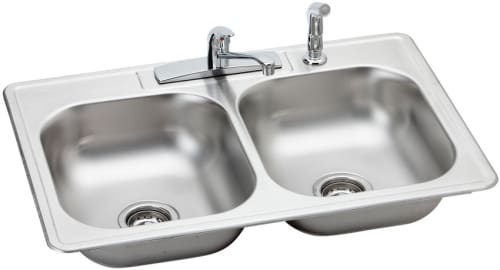 Elkay Kingsford Collection K233224DF - Stainless Steel Sink Package