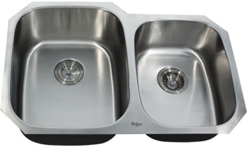 Kraus Kitchen Combo Series KBU24KPF2110SD20 - Undermount Stainless Steel Sink