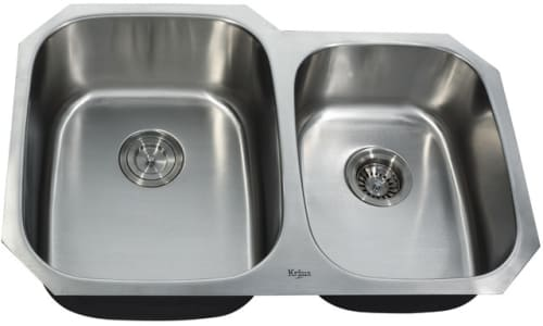 Kraus Kitchen Combo Series KBU24KPF2160SD20 - Undermount Stainless Steel Sink
