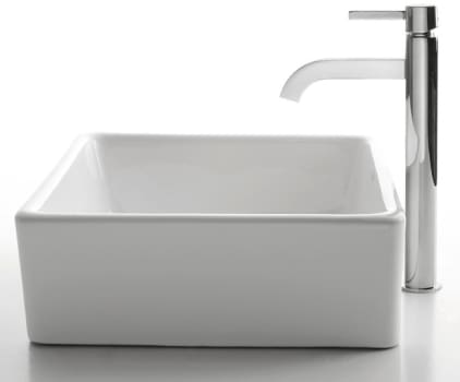 Kraus Ceramic Series CKCV1201007SN - Ramus Faucet with Chrome Finish