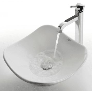 Kraus Ceramic Series CKCV1351007CH - Ramus Faucet with Chrome Finish