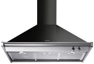 Smeg Classic Design KD90NU - Glossy Black
