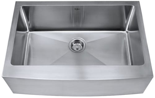 Kraus KHF20030 30 Inch Undermount Single Bowl Apron Stainless ...