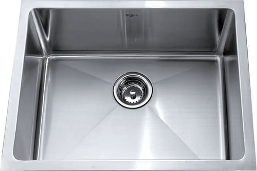 Kraus Kitchen Combo Series KHU10123KPF2160SD20 - Stainless Steel Undermount Sink