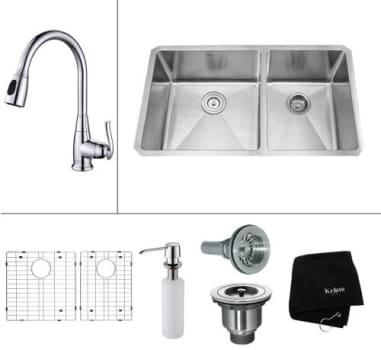Kraus Kitchen Combo Series KHU10333KPF2230KSD30SN - Parts