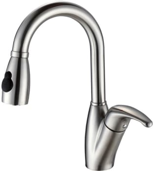 Kraus Kitchen Faucet Series KPF2121 - Gooseneck Pull-out Faucet