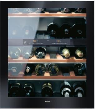 Miele Independence Series KWT4154UG1R - Black Glass Finish