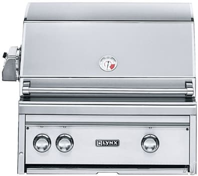 "Lynx Professional Grill Series L27PSR3NG - 27"" Built-in Gas Grill"