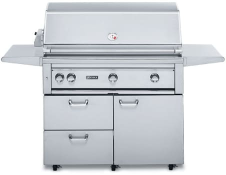"Lynx Professional Grill Series L42PSFR2 - 42"" Freestanding Gas Grill"