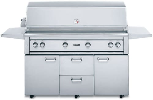 "Lynx Professional Grill Series L54PSFR2 - 54"" Freestanding Gas Grill"