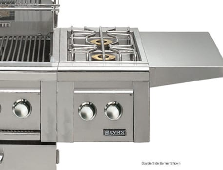 Lynx Professional Grill Series LCB12LP - Featured View (Double Side Burner Shown)