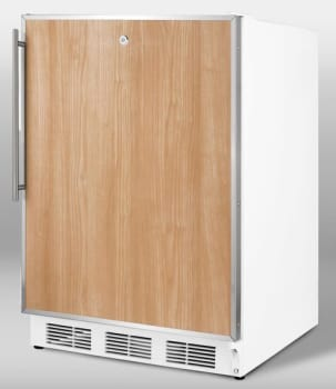 Summit Commercial Series FF7LBLADAFR - FR (White Cabinet Shown)