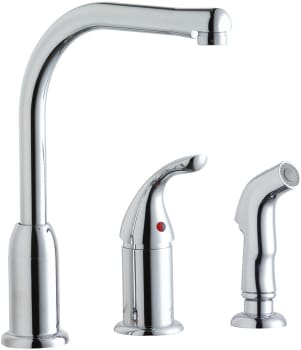 Elkay LK3001CR - Faucet and Side Spray