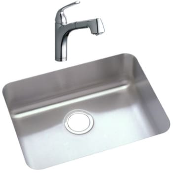 Elkay Gourmet Collection LKGTPKG1CR - Featured View: Chrome Faucet