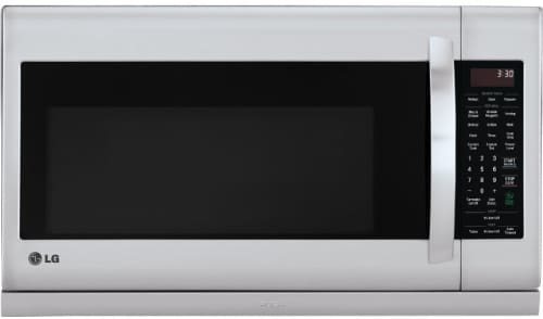 Lg Lmh2235st 2 2 Cu Ft Over The Range Microwave Oven