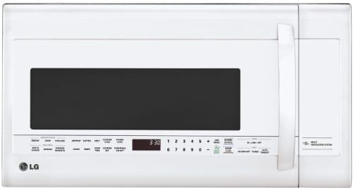 LG LMVM2033SW - White Front