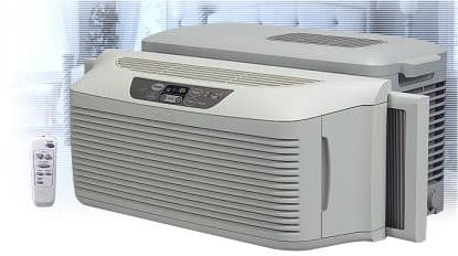 Lg lp7000r 21 inch low profile window air conditioner w for 12 inch high window air conditioner