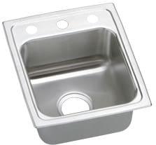 Elkay Gourmet Lustertone Collection LRAD131645 - Stainless Steel Sink