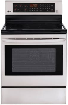 LG LRE3083ST - 30 Inch Freestanding Electric Range from LG