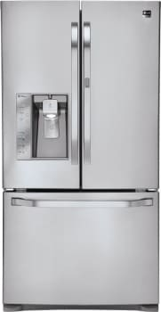 LG Studio LSFD2591ST - 24.5 Cu. Ft. Counter-Depth French Door Refrigerator