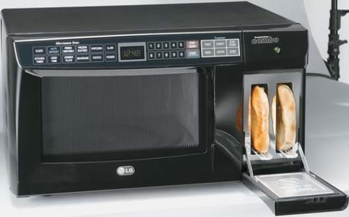 Microwave And Toaster In 1 ~ Lg ltm b cu ft microwave toaster combo w
