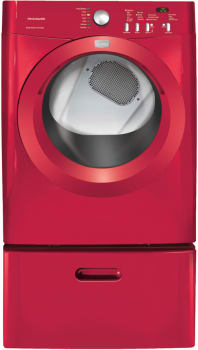 Frigidaire Affinity Series FAQE7011K - Classic Red with Optional Pedestal