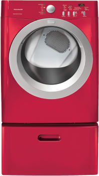 Frigidaire Affinity Series FAQG7017K - Classic Red with Optional Pedestal