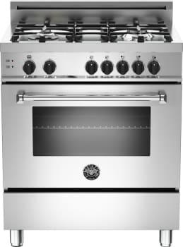 "Bertazzoni Master Series MAS304GASXELP - 30"" 4-Burner, Gas Oven"