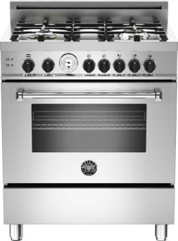 "Bertazzoni Master Series MAS304GASXTLP - 30"" 4-Burner, Gas Oven"