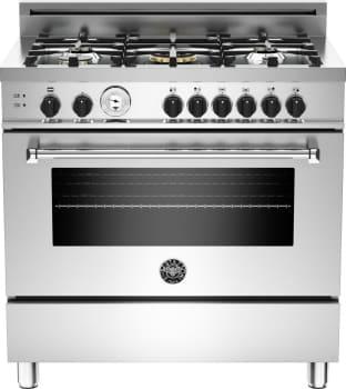 "Bertazzoni Master Series MAS365GASXT - 36"" 5-Burner, Gas Oven"