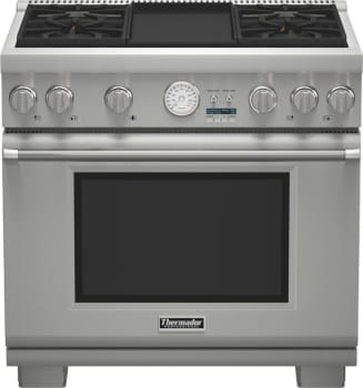 Thermador Pro Grand Professional Series PRG364JDG - Pro Grand Gas Range