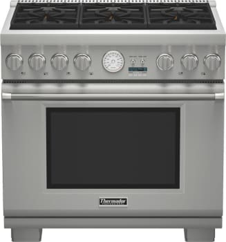 Thermador Pro Grand Professional Series PRL366JG - Pro Grand Gas Range