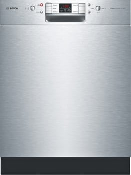 Bosch 800 Plus Series SHE7ER55UC - Stainless Steel