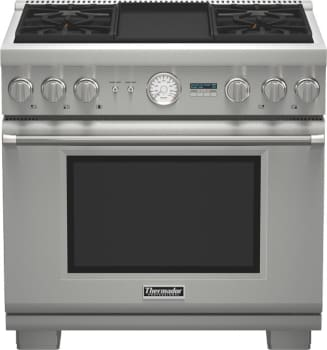 Thermador Pro Grand Professional Series PRD364JDGU - Pro Grand Dual Fuel Range