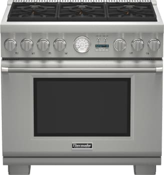 Thermador Pro Grand Professional Series PRD366JGU - Pro Grand Dual Fuel Range
