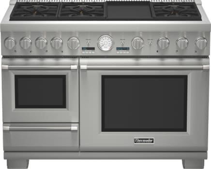 Thermador Pro Grand Steam Prd48jdsgu 48 Inch Style Dual Fuel Range