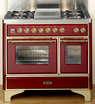 Ilve Majestic Collection UMD1006MPRB - Burgundy Red