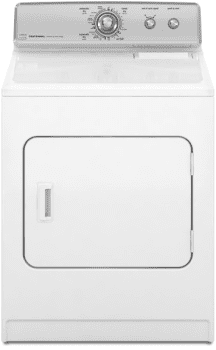 Maytag Centennial Series MEDC400VW - White with Silver Accents