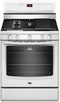 Maytag MGR8880AW - Front View