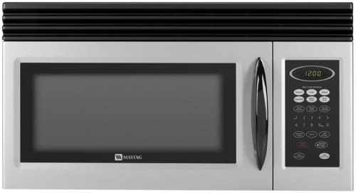 Maytag Mmv1153bas 1 5 Cu Ft Over The Range Microwave With 000