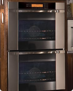 Dacor Discovery Millennia MO230 - Wall Oven with Vertical Stainless Steel Trim