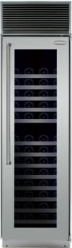 Marvel Professional Full Size Series MPRO24DZBGXR - Stainless Steel Glass Door