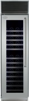 Marvel Professional Full Size Series MPRO24DZBGXL - Stainless Steel Glass Door