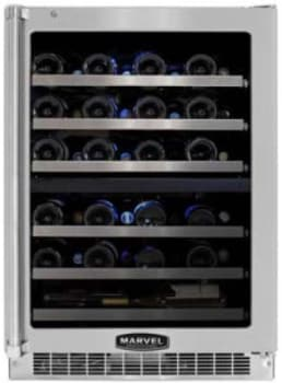Marvel Professional Series MPRO6DZEBSLR - Dual Zone Wine Cellar