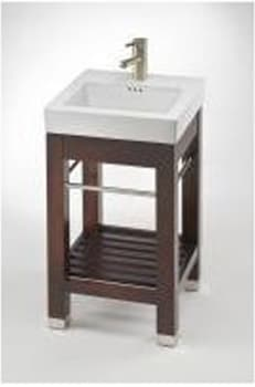 Empire Industries New City Collection NC18DC - Dark Cherry (Sink Sold Separately)