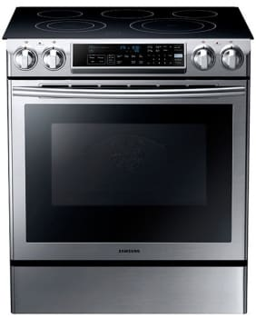 Samsung Ne58f9500ss 30 Inch Slide In Electric Range