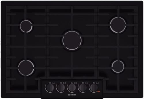 Bosch 800 Series NGM8065UC - 31 Inch Gas Cooktop with 5 Sealed Burners