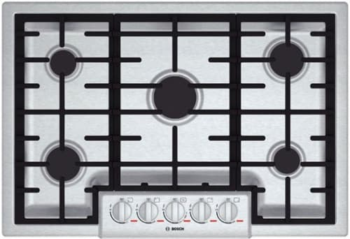 "Bosch Benchmark Series NGMP055UC - 30"" Gas Cooktop"