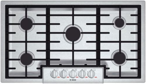 "Bosch Benchmark Series NGMP655UC - 36"" Gas Cooktop"